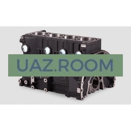Блок  двигателя ЗМЗ-40905, 40911 УАЗ Евро-3, Евро-4 ##