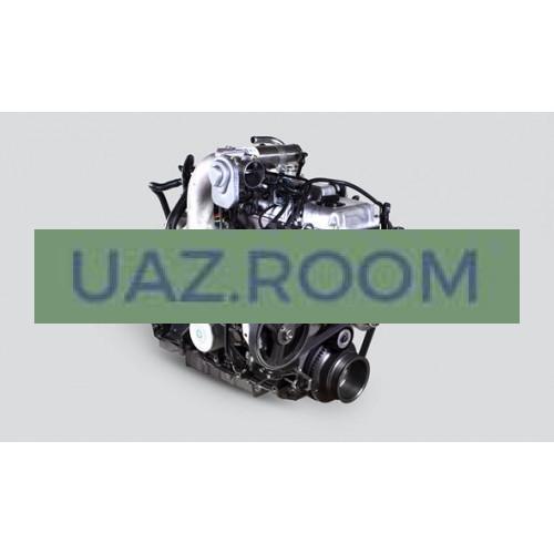 Двигатель  ЗМЗ-51432.10 ДИЗЕЛЬ УАЗ Патриот, Евро-4 (с мая 2012; под кондиционер; генератор 120А) ##