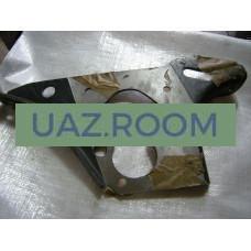 Пластина  крепления РК и КП  УАЗ 452 (раздаточной коробки и коробки передач)