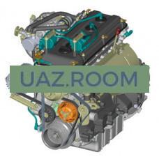 Блок  двигателя УМЗ-417 под сальниковую набивку ##