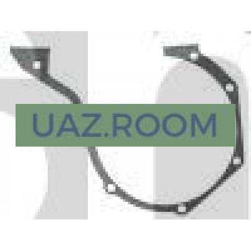Прокладка  передней крышки блока цилиндров УАЗ дв.УМЗ, ГАЗель дв.4215, 4216 (паронит)