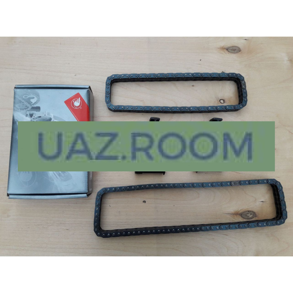 Комплект натяжного устройства привода ГРМ дв.ЗМЗ-40904 УАЗ, 40524 ГАЗ Евро-3 с цепями