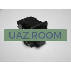 Кнопка  включения вентилятора отопителя УАЗ, ГАЗ, ЗИЛ, МАЗ (4 контакта)