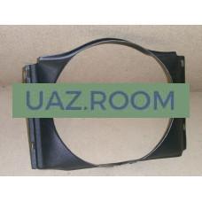 Диффузор  (кожух вентилятора)  УАЗ 469 АБС-ПЛАСТИК