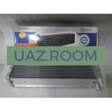 Радиатор  отопителя  УАЗ 452 (трубки 20мм) АЛЮМИНИЙ ДВУХрядный 'ПЕКАР'