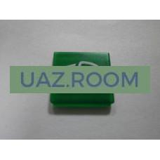 Пиктограмма  на переключатель 'Dipped beam', цвет зеленый 'HELLA'