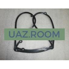 Прокладка  клапанной крышки (коромысел)  УАЗ дв.40905 ЕВРО-4 (резина)**
