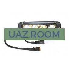 Фара светодиодная КОМБО 40W (10W*4), прям. 20 см , IP67 'redBTR'