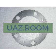 Шайба  регулировочная тормозного диска  УАЗ (прокладка) (1 мм) **