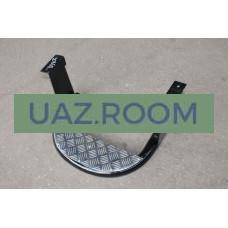 Подножка  УАЗ 452 салона (с алюминевой площадкой)