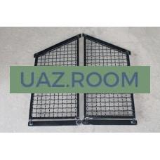 Защита  задних боковых окон  УАЗ Хантер (сетка) (КОМПЛЕКТ 2 ШТ.)