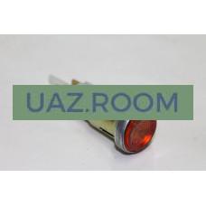 Глазок  УАЗ 469, 452 контрольная лампа (ОРАНЖЕВЫЙ, 12В) **