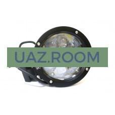 Фара светодиодная дальнего света 45W (5W*9), круг. 14 см, IP68 'redBTR'