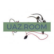 Комплект проводки для подключения 2-х дополнительных LED-фар (с кнопкой, реле 40А)