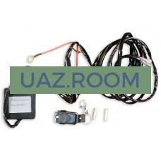 Комплект проводки для подключения 2-х дополнительных LED-фар (с РАДИОпультом, реле 40А)