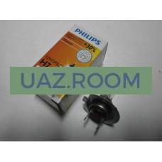 Лампа фарная  H7 55W 12V +30% Vision (Premium) 'PHILIPS'