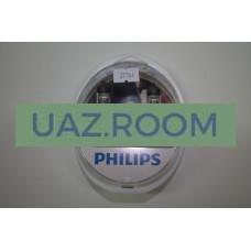 Лампа фарная  H4 60W+55W 12V +60% Vision Plus (2шт.) 'PHILIPS'