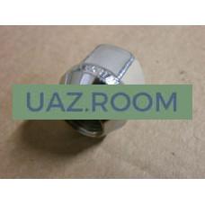 Гайка  М14х1,5 колесная  УАЗ (для легкосплавного диска, открытая, под ключ 21, H=21 мм) 1 ШТ.