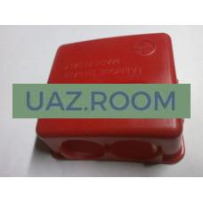 Клеммная  крышка (колпачок) красный пластик (+) (для клемм АКБ 22323, 22324)