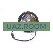 Фара светодиодная дальнего света 45W (15W*3), круг. 17,8 см, IP67 'redBTR'