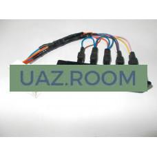 Глазки  УАЗ 2206, 3962 (блок контрольных ламп, без АБС, под МИКАС 0 261 S07 322) С ПРОВОДКОЙ**