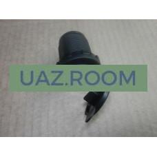 Разъем USB под закрутку (с подсветкой, одиночный)