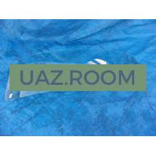 стекло  УАЗ 452  лобовое  БЕЗ полосы 'УАЗ' (ЗАВОД