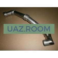 Труба  отводящая  УАЗ Хантер (воздуховод дв.ЗМЗ-514) от охладителя (интеркулера)
