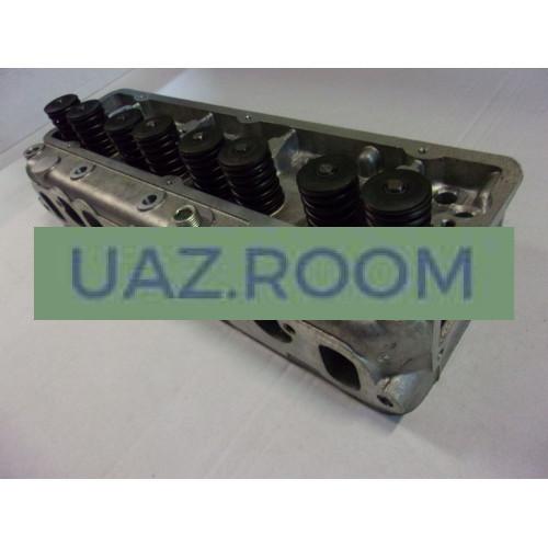 Головка  блока в сб. ГАЗ 402, 4026 дв. (АИ-92) с клапанами 'ЗМЗ'
