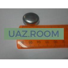 Заглушка  головки блока цилиндров**  IVECO дв.  УАЗ Патриот (ПРОБКА, чашечная, малая) D=26 мм