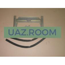 Комплект установочный заднего дополнительного отопителя салона  УАЗ Патриот, 3162