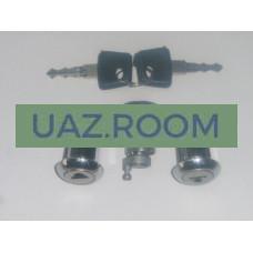 Вставка  двери с ключом  УАЗ Патриот к-кт 3 шт. (2 ключа + 3 вставки)
