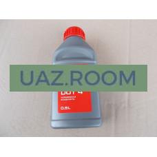 Тормозная жидкость  'УАЗ' DOT-4 (0,5 л)