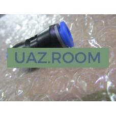 Фитинг  (соединитель) пластиковый прямой d 8 мм (PUC8)