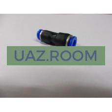 Фитинг  (соединитель) пластиковый переходной  4-6 мм (PG4-6)**
