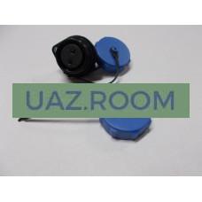 Разъем  герметичный (розетка) с защитной крышкой на 2 контакта (ip68) max 30A