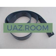 Уплотнитель  крыши (прокладка на рамку лобового стекла)  УАЗ 469, Хантер лобовой, РЕЗИНА **