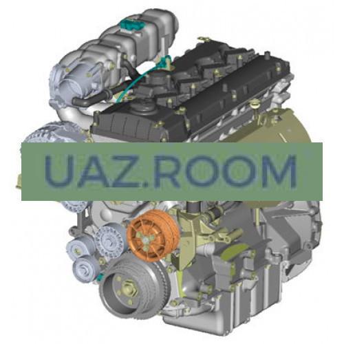 Двигатель  ЗМЗ-40906 АИ-92 УАЗ Патриот, Евро-5