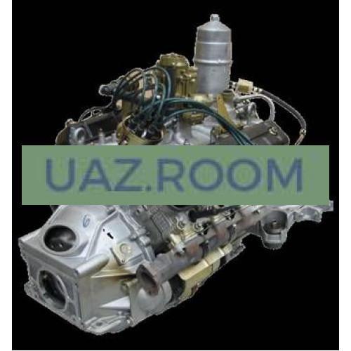 Двигатель  ЗМЗ-5231 АИ-92 ГАЗ-3308, Евро-3 (под 5-ступ. КПП, АТС, компрессор, отопитель, без подог.)