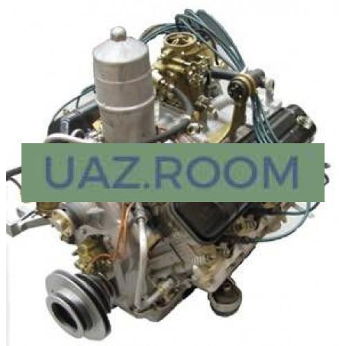 Двигатель  ЗМЗ-52342 АИ-92 ПАЗ-3205, Евро-3(ЕВРО-4) 124 л.с., 4,67л (под предпусковой подогреватель)