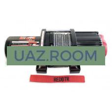 Лебедка  RedBTR серия 'QUATTRO CRAZY' 3,5S 12v (ATV), трос синтетика, 1587кг, 166:1, пульт ДУ