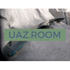 Антикрыло  УАЗ Патриот 2005-2016г. окрашенное (цвет АМУЛЕТ, Тёмно-зелёный металлик)
