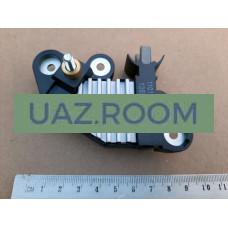 Регулятор  напряжения генератора  ГАЗ дв.Cummins ISF 2.8 (под клему, 5 мм, 14В) 'LS' 'ЛС Групп'