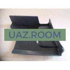 Облицовка  подставки ДВУХместного сиденья левая  УАЗ ПРОФИ 4*2 (236021)