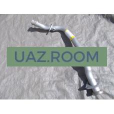Труба  вставка  вместо катализатора  УАЗ 452 (дв. УМЗ-4213)
