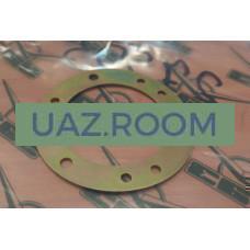 Пластина  контактная кнопки звукового сигнала УАЗ 452, 469 (ГОЛАЯ) ##