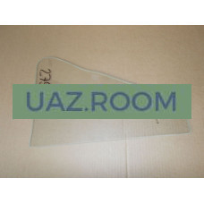 стекло  УАЗ 469, 3151 форточки двери (Ф) 376*251