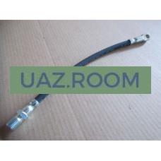 Шланг  тормозной  задний  УАЗ дисковый тормоз (суппорт ГАЗЕЛЬ) L=320 мм.