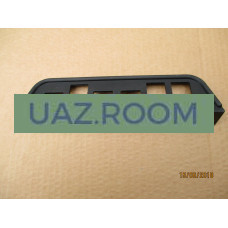 Надставка  панели приборов  УАЗ 469, Хантер нижняя (под клавиши)**