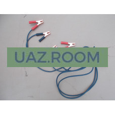 Стартовые провода (провода для прикуривания) 500А (резина (МЕДЬ) 3 метра 'Орион'